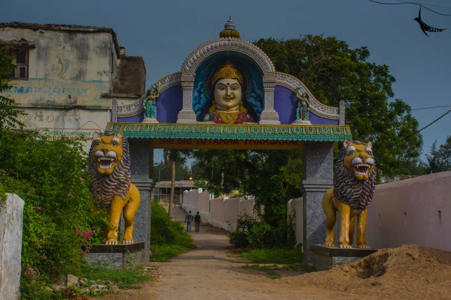 Temple of a local deity