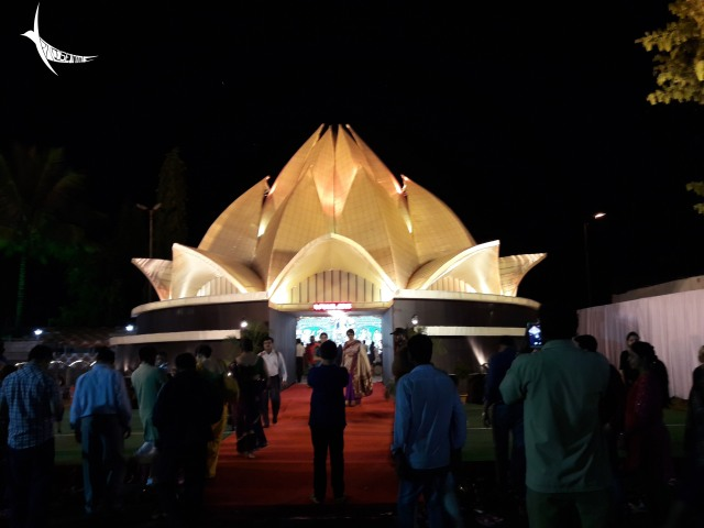 The Lotus Temple travelled from Delhi to Pune