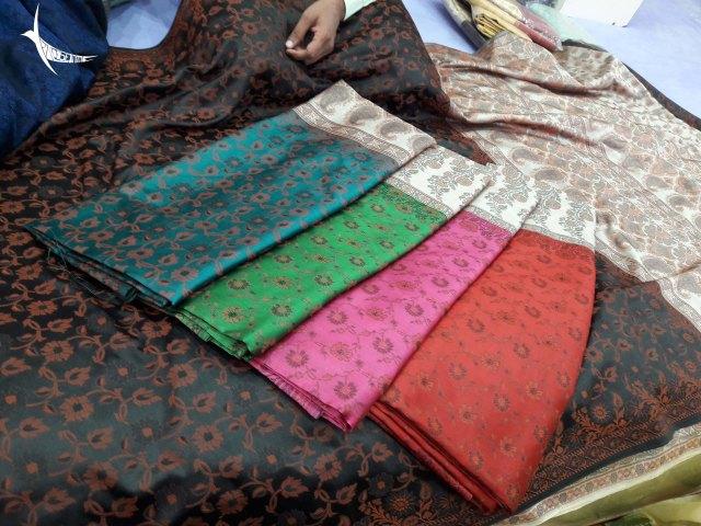 Banarasi Sarees for sale in the emporium