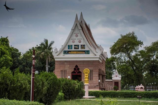 Near the Wat Thai Temple