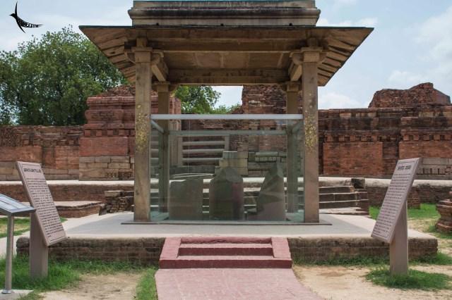 Remains of the Ashokan Pillar