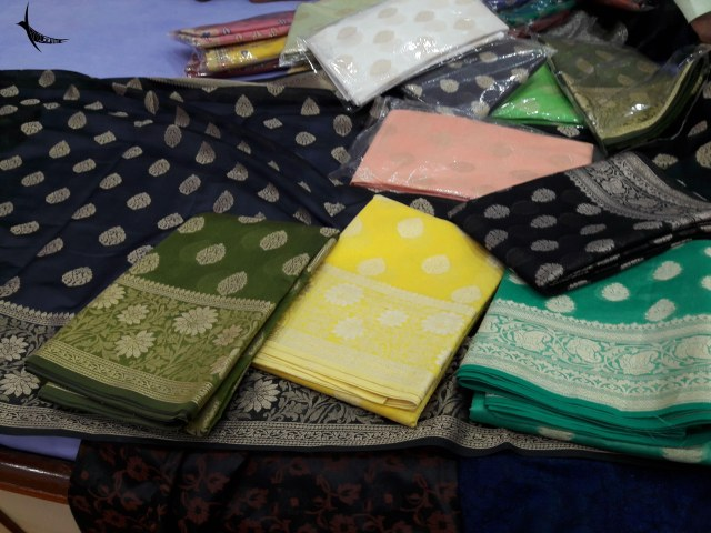 Inside the Banarasi Saree emporium