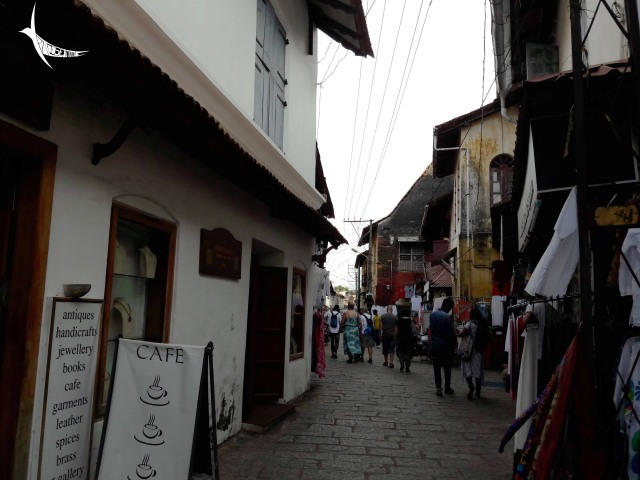 The narrow lanes of the Jewish towns