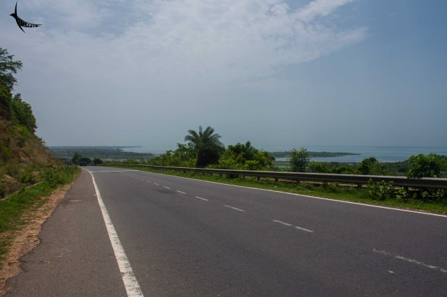 The view of Chilika lake which is very close to Bhubaneshwar
