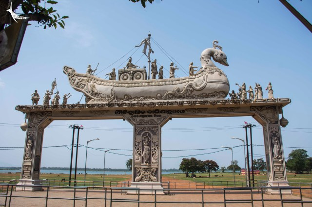 Welcome gate for Baluyatra