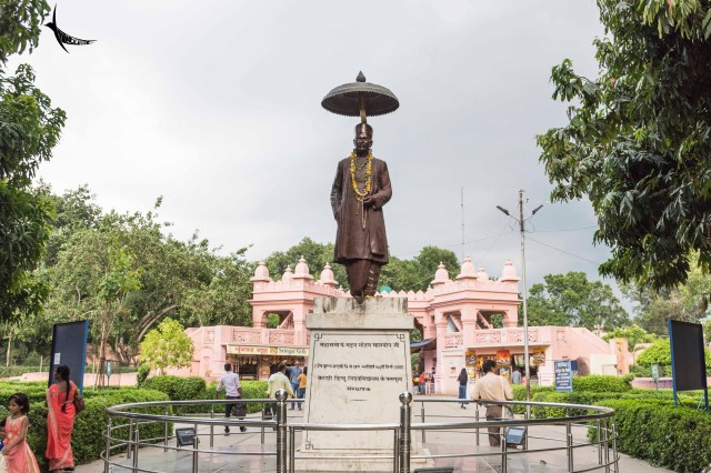 Statue of Pandit Madan Mohan Malviya