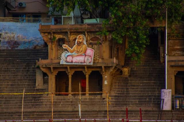 Tulsidas in Tulsi Ghat
