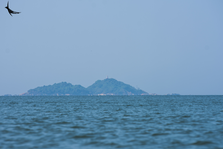 Oyster Rock Lighthouse on Devgad island