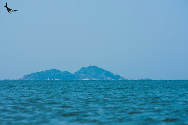Oyster Rock Lighthouse on Devgad island