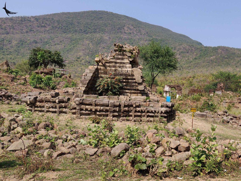 Ruins of the ancient Kalyaneshwari Temple