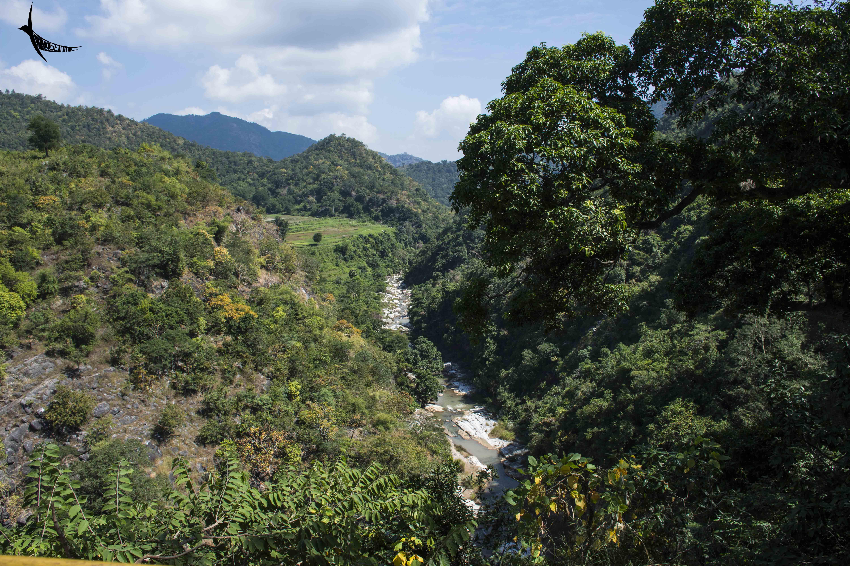 Gosthani river
