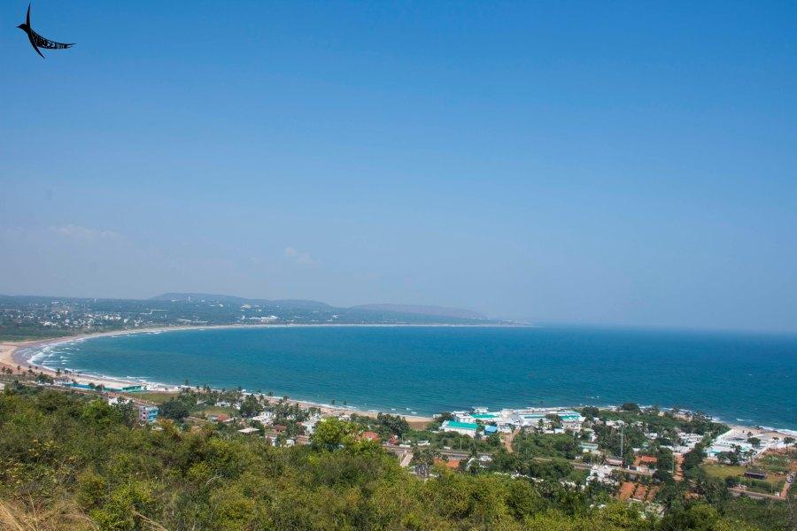 View from Thotlakonda Hill