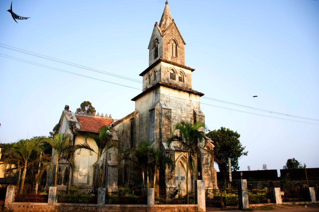 The church within the fort area