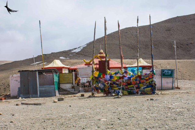The Gurdwara turned monastery beside Gurudongmar Lake
