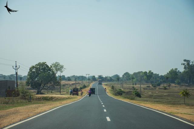 On the way to Ajodhya Hills