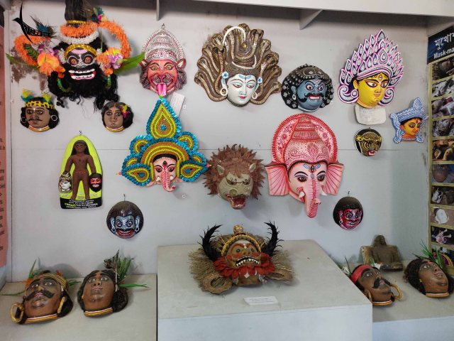 Different type of decorative masks