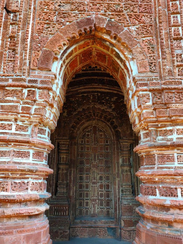 Watch out the doors and its terracotta pannels