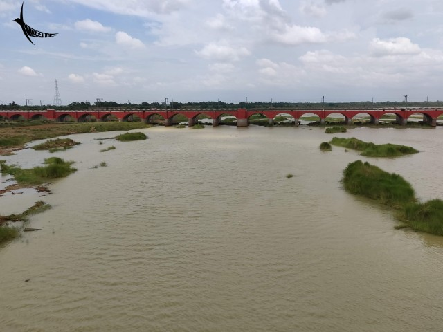 The Ajay river