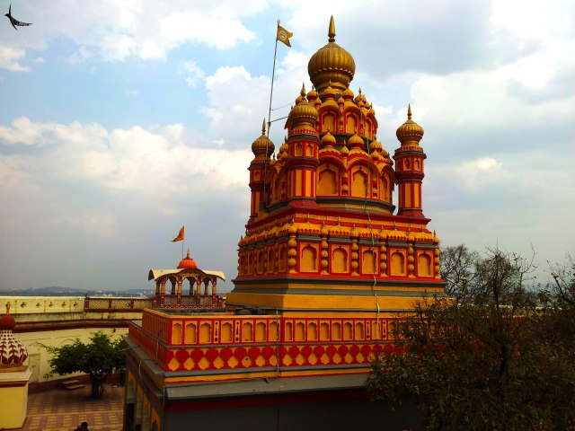 The temple on the Parvati Hill