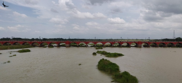 Ajay River in Birbhum district of West bengal
