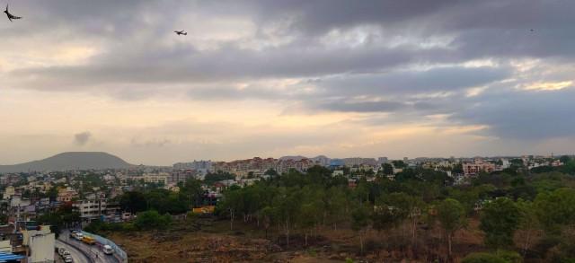 Pune cityscape