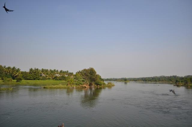 Kaveri River, Lokapavani River and Hemavati River sangam