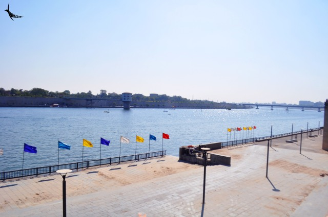 Sabarmati River near Ashram in Ahmedabad