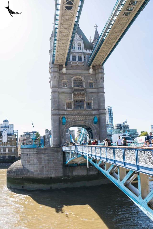 The Walkway and the Bascule of the Tower Bridge