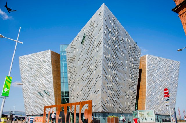 The Titanic visitor attraction centre or the Titanic Museum