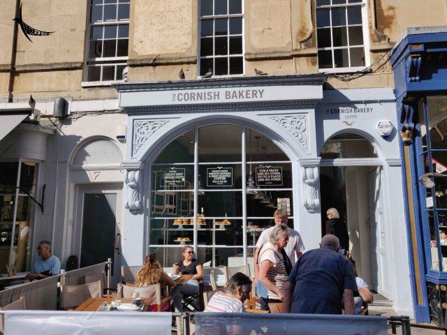 The famous Cornish Bakery