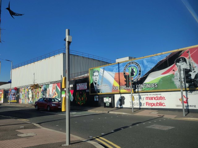 Murals of Shankill street