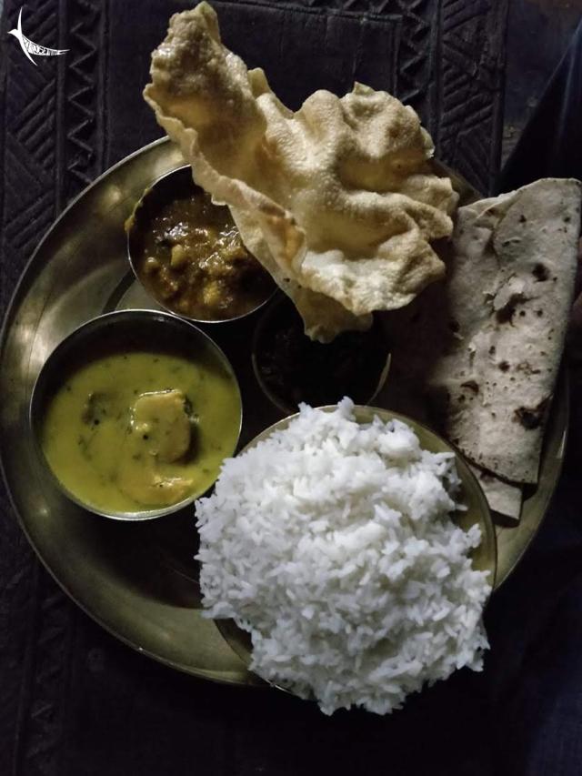Chhattisgaria meal