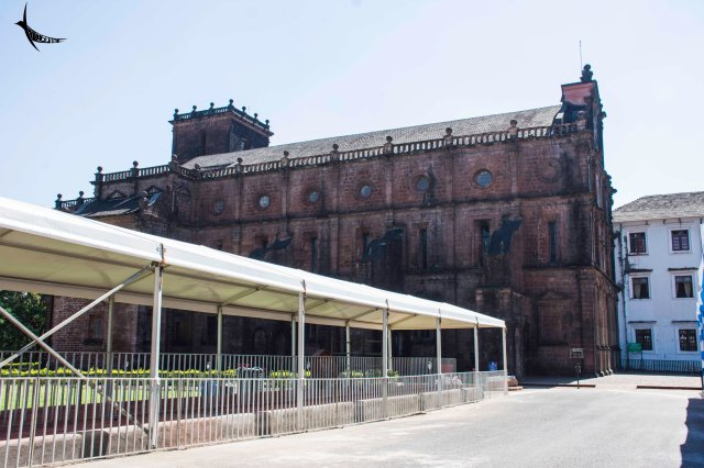 Basilica Bom Jesus, side view
